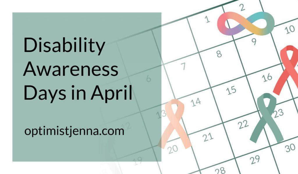 disability awareness days in April